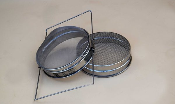 Φίλτρο μελιού με διπλή σίτα INOX (Ø.23cm) ΠΑΠΑΓΙΑΝΝΟΠΟΥΛΟΣ