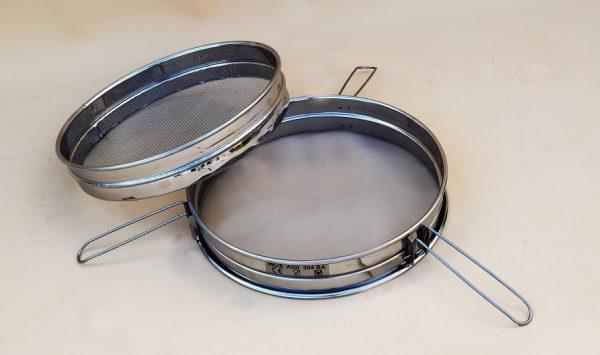 Φίλτρο μελιού με διπλή σίτα INOX (Ø.40cm) ΠΑΠΑΓΙΑΝΝΟΠΟΥΛΟΣ